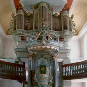 Orgelbau Barockorgel Eckenhagen